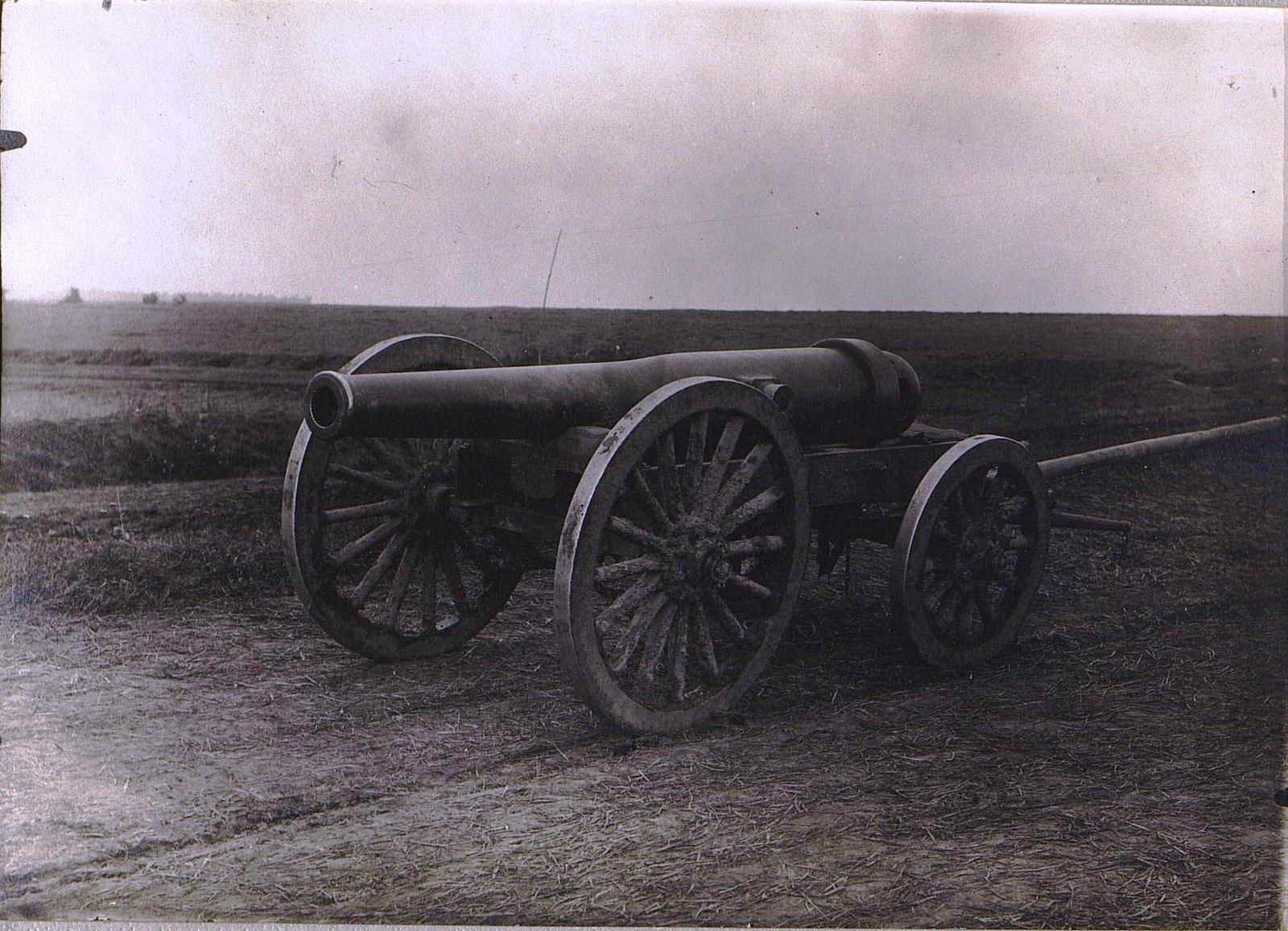 22. Трофейное австрийское орудие, захваченное 31 августа. 1915