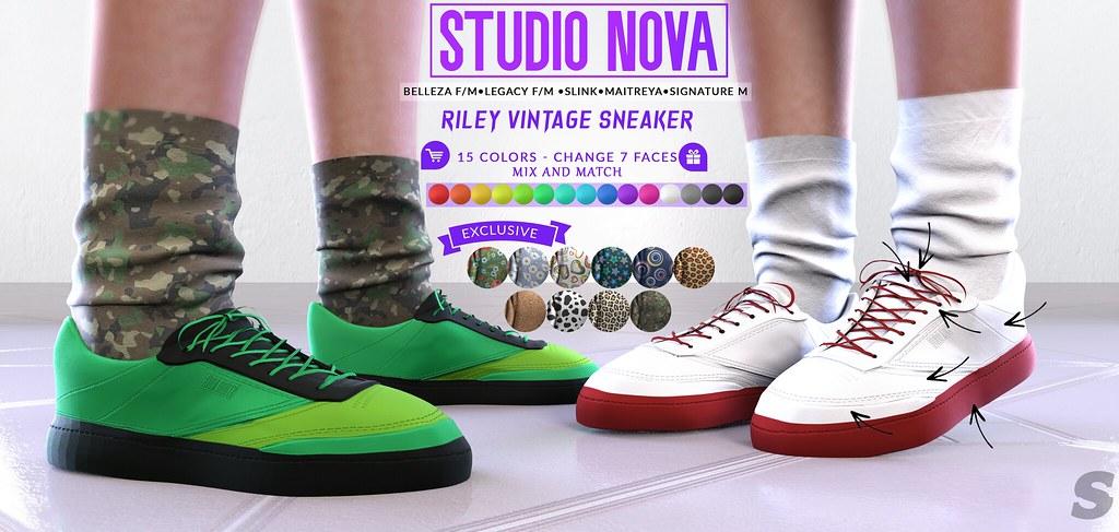 [StudioNova] Riley Vintage Sneakers