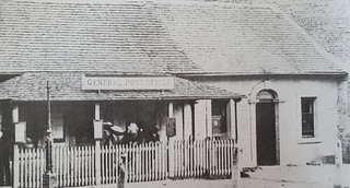 Post office in former Convict Apartments - approx. 1864