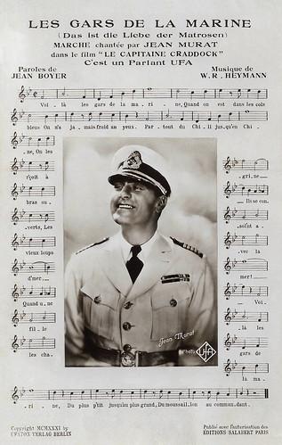 Jean Murat in Le Capitaine Craddock (1931)