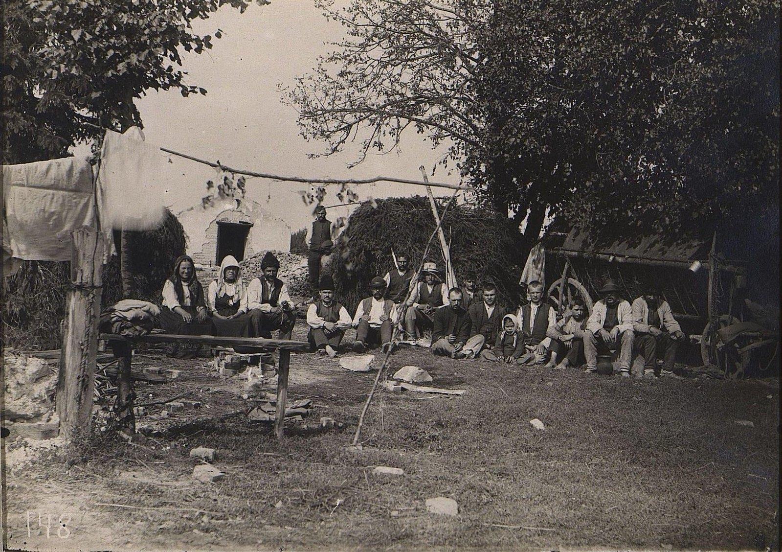 23. Беженцы - галичане. 1915