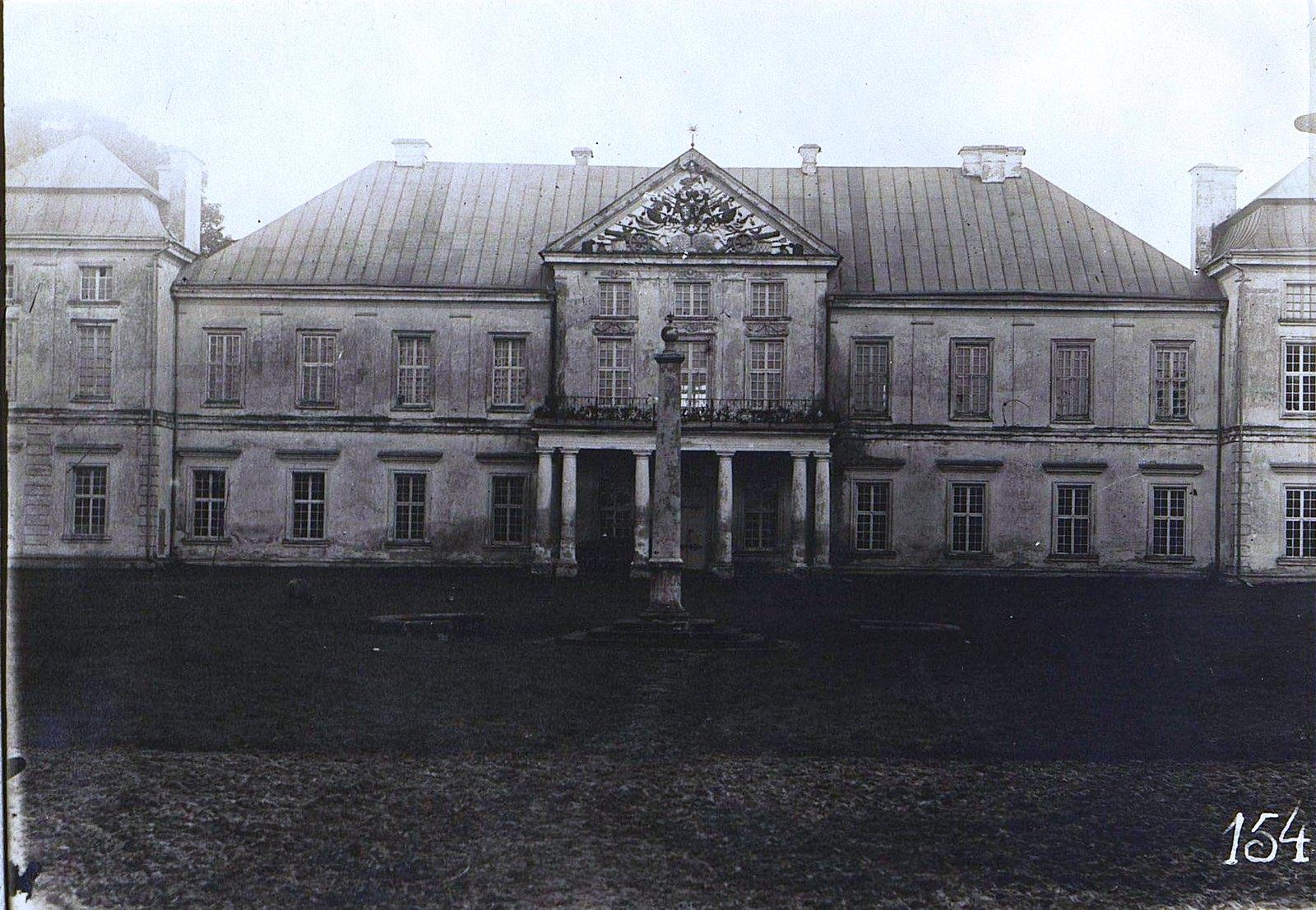 06. Замок графа Демидова в м. Вишневец. 1915