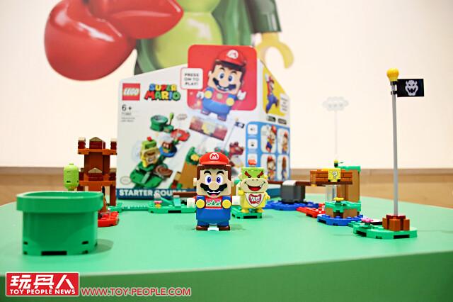 前進台灣樂高辦公室~【LEGO Super Mario 產品預覽會】現場報導!《樂高超級瑪利歐》盒組實品搶先看&試玩分享