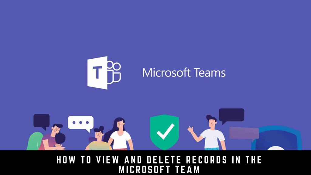 How to View and Delete Records in the Microsoft Team