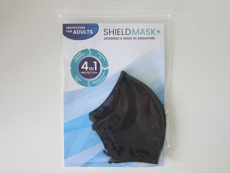 ShieldMask+ Reusable Mask - Packaging Front