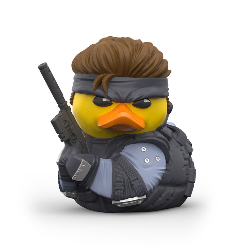傳說中的大叔化身小鴨鴨~TUBBZ《潛龍諜影》黃色小鴨角色扮演收藏(Metal Gear Solid  Cosplaying Duck Collectible)