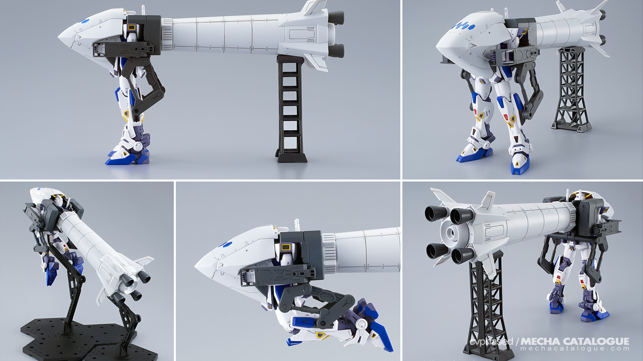 That Looks... Something? F90 A to Z Project: MG Gundam F90 U-Type