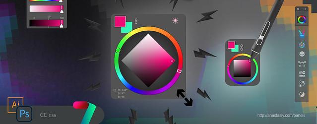 Tip#93: Resize Color Wheel HUD in Photoshop