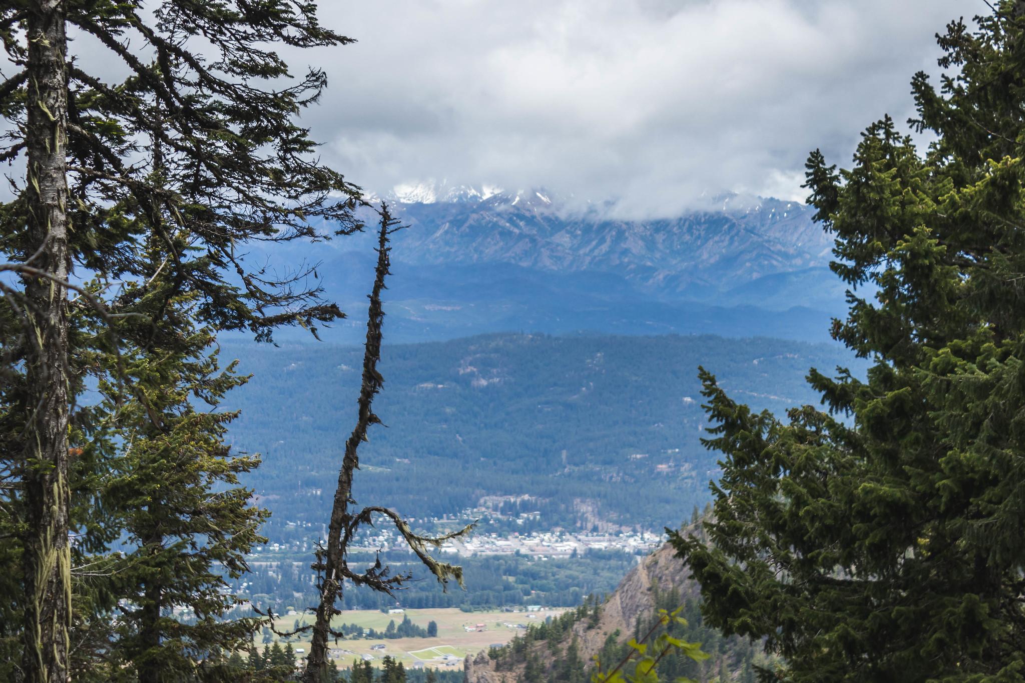 North view on South Clem Ridge East Peak #1