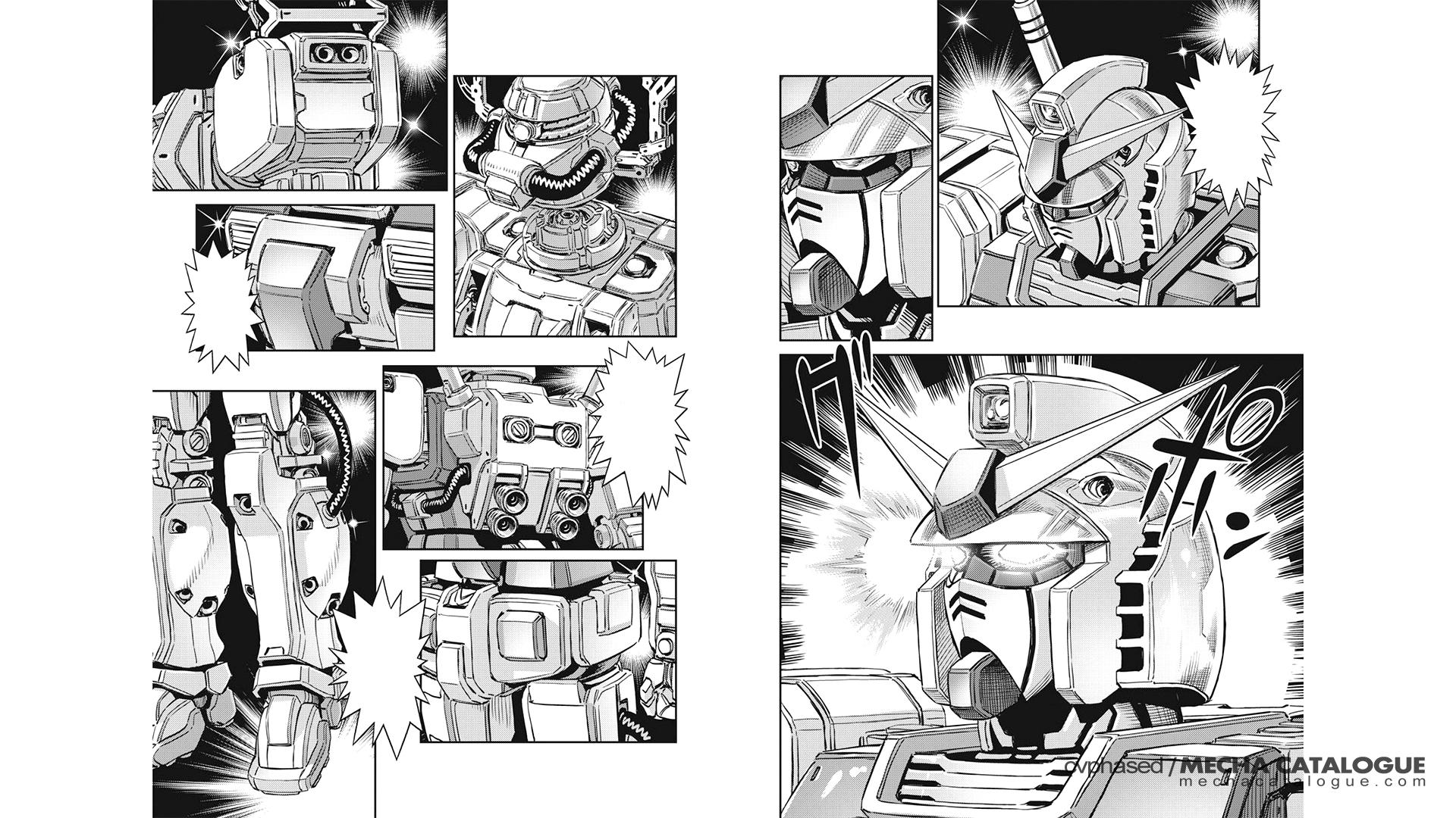 One HG Please! Gundam x Psycho Zaku: Perfect Gundam (Gundam Thunderbolt)