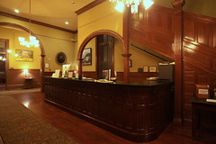 The Fitzpatrick Hotel (Maybe haunted) Front Desk - Washington, GA