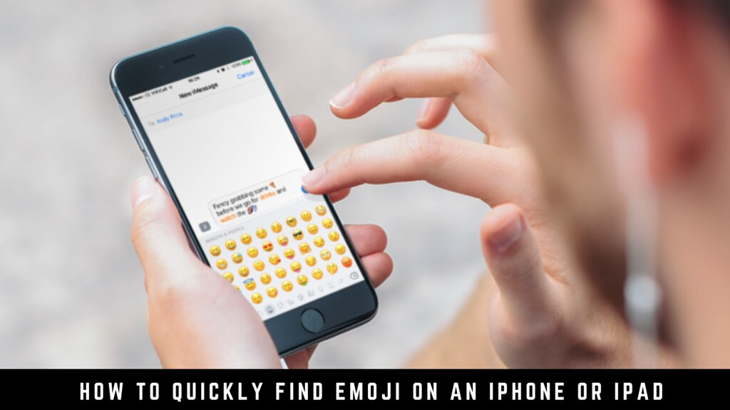 How to Quickly Find Emoji on an iPhone or iPad