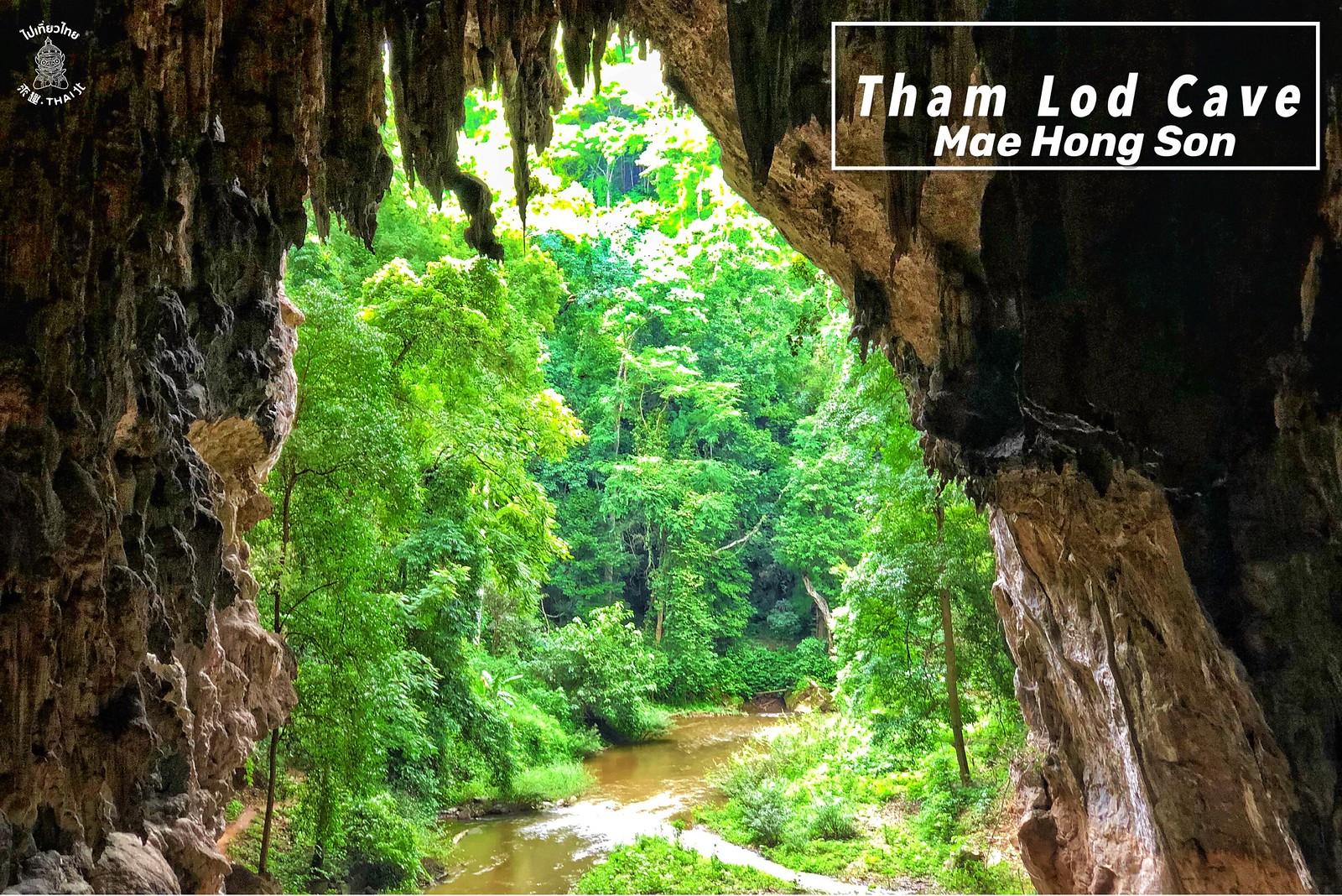 世界上最美的洞穴之一。《Tham Lod Cave》
