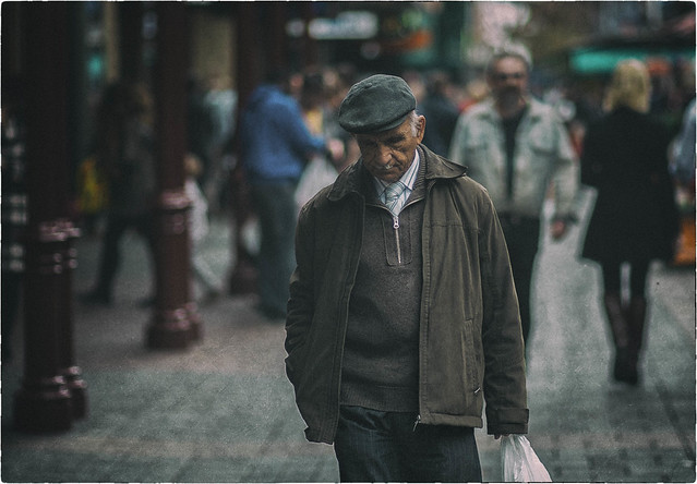 Street - A Reflective Moment