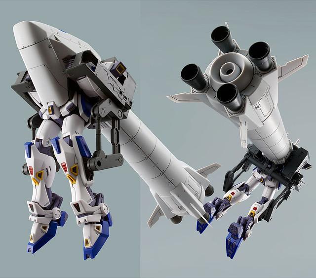 MG 1/100《機動戰士鋼彈F90》鋼彈F90用 O型&U型任務背包擴充零件(ガンダムF90用 ミッションパック Oタイプ&Uタイプ)【PB限定】