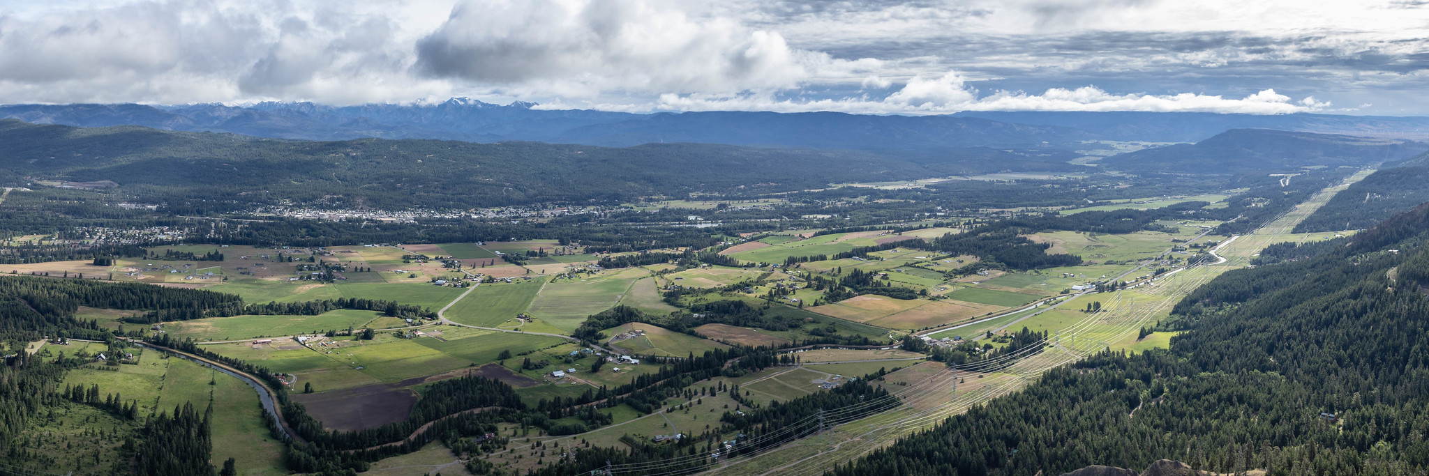 Northeastern panoramic view