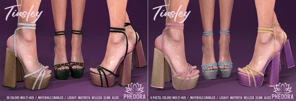 "Phedora for Access ~ ""Tinsley"" Platforms ♥"