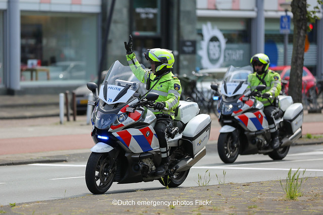 Dutch police BMW K1600gt's