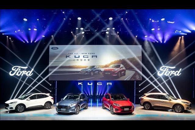 【圖三】The All-New Ford Kuga導入嶄新雙車型外觀設計及雙動力,滿足消費者對於駕馭樂趣、科技安全與舒適質感等全方位的需求