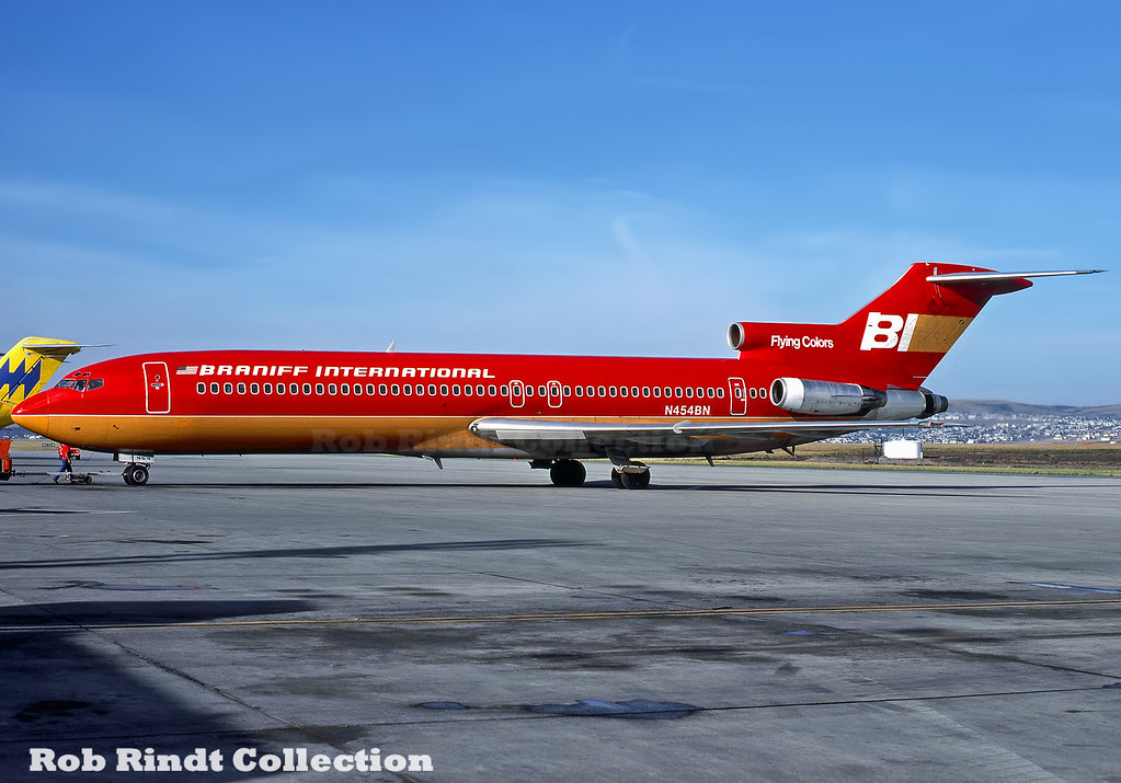 Braniff International B727-227/Advanced N454BN