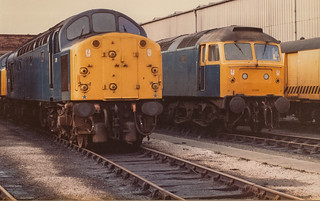 Scan 414 40009 and 47194 Wigan Springs Branch