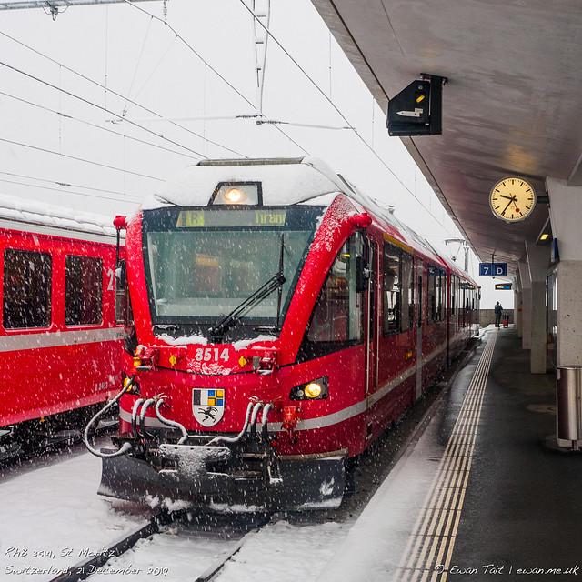 RhB 3514, St Moritz