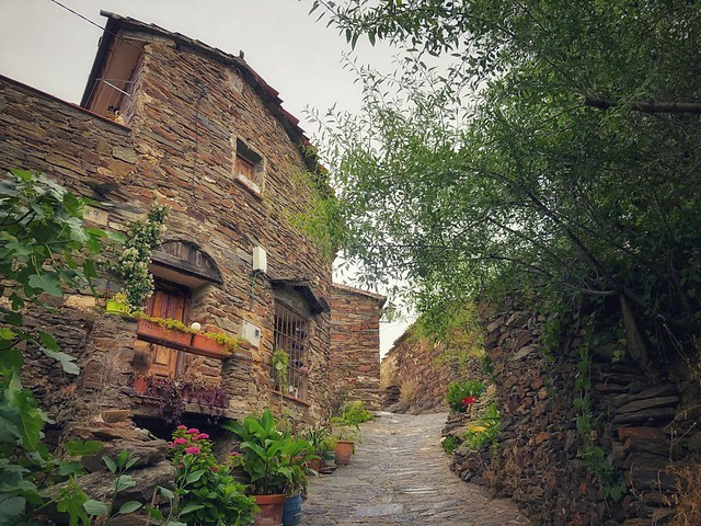 Calle de Patones de Arriba (Sierra Norte de Madrid)