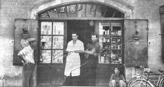 En 1939, un jeune coiffeur M. Farghin vint s'installer à Orgelet
