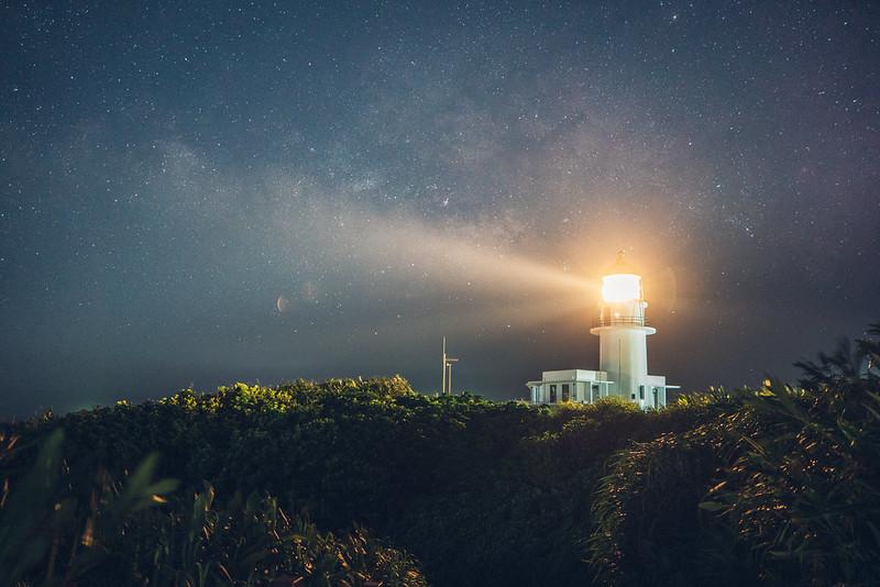 三貂角燈塔銀河|TAMRON A071