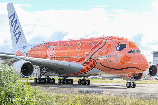 Ka La / Airbus A380-800 / All Nippon Airways