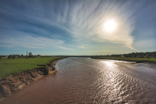 canada moncton newbrunswick cityscape clouds field landscape mud nature outdoor outside panorama petitcodiac petitcodiacriver river shawnharquailcom sun sunrise view vista water