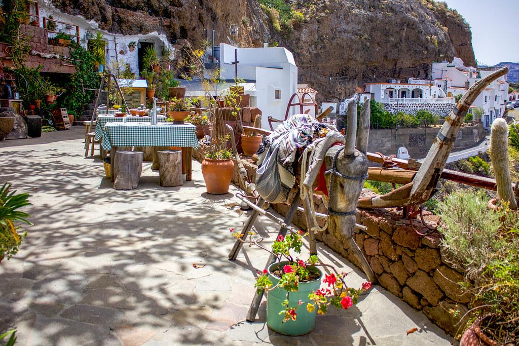Museo de Casas-Cueva en el pueblo de Artenara