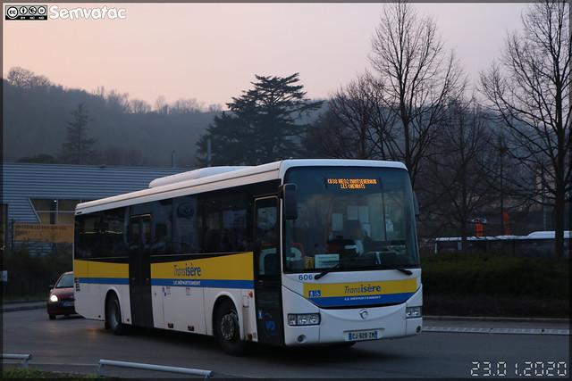 Irisbus Crossway – VFD (Voies Ferrées du Dauphiné) (CFTR, Compagnie Française des Transports Régionaux) / Auvergne-Rhône-Alpes / TransIsère n°606