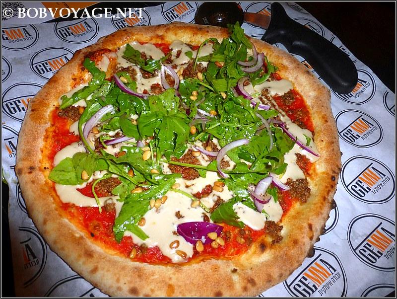 פיצה יפואית ב- ג'מה (Gemma)