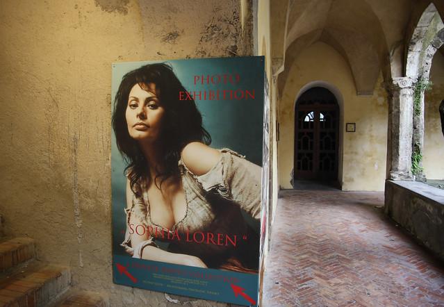 The Italian diva Sophia Loren