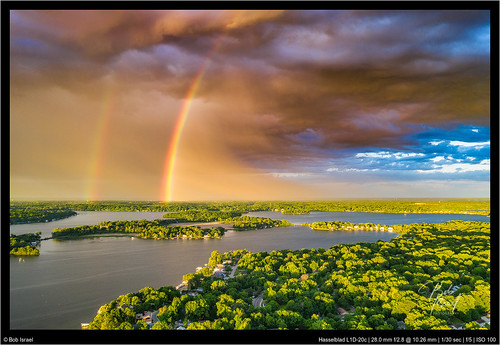 droneography june ranibow drone lake miinnetonka sunrise mound minnesota unitedstatesofamerica