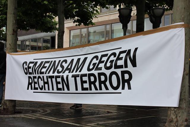 Kundgebung #KeineEinzeltäter am 17.06.20 in Frankfurt