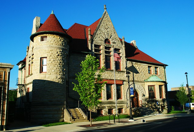 Former Adams Memorial Library - Wheaton, Illinois