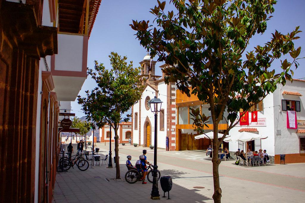 Iglesia de San Matías en Artenara