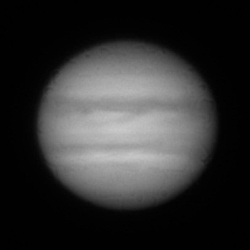 「おせんべいノイズ」の例 (木星)