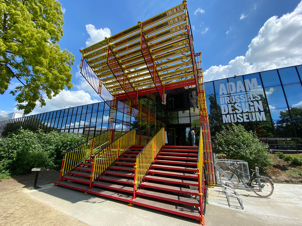 Entrance to the Adam Brrussels Design Museum