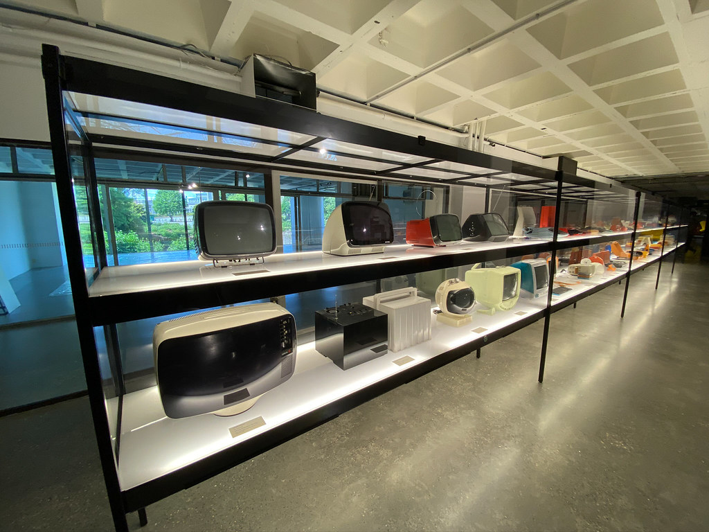 Television sets from the 60's and 70's