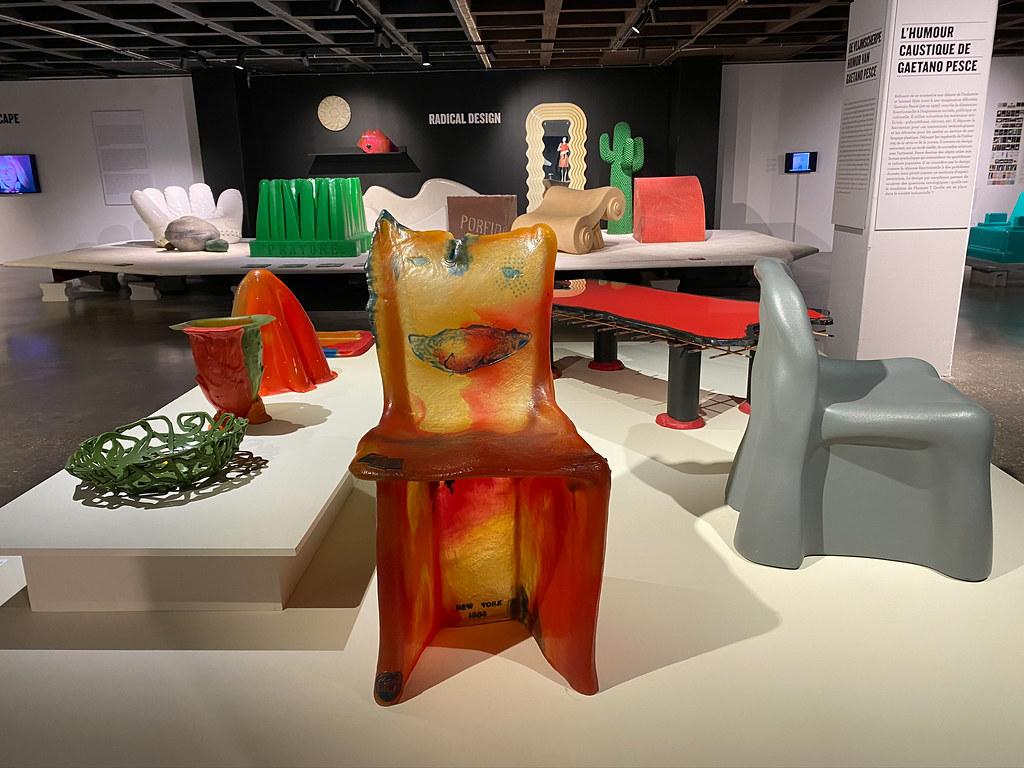 The Pratt chair by Gaetano Pesce in 1984