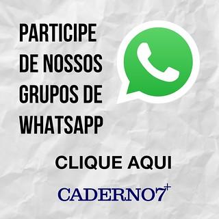 Entre em nossos grupos de Whatsapp