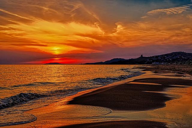 Tramonto siciliano (4) - Sicilian sunset (4)