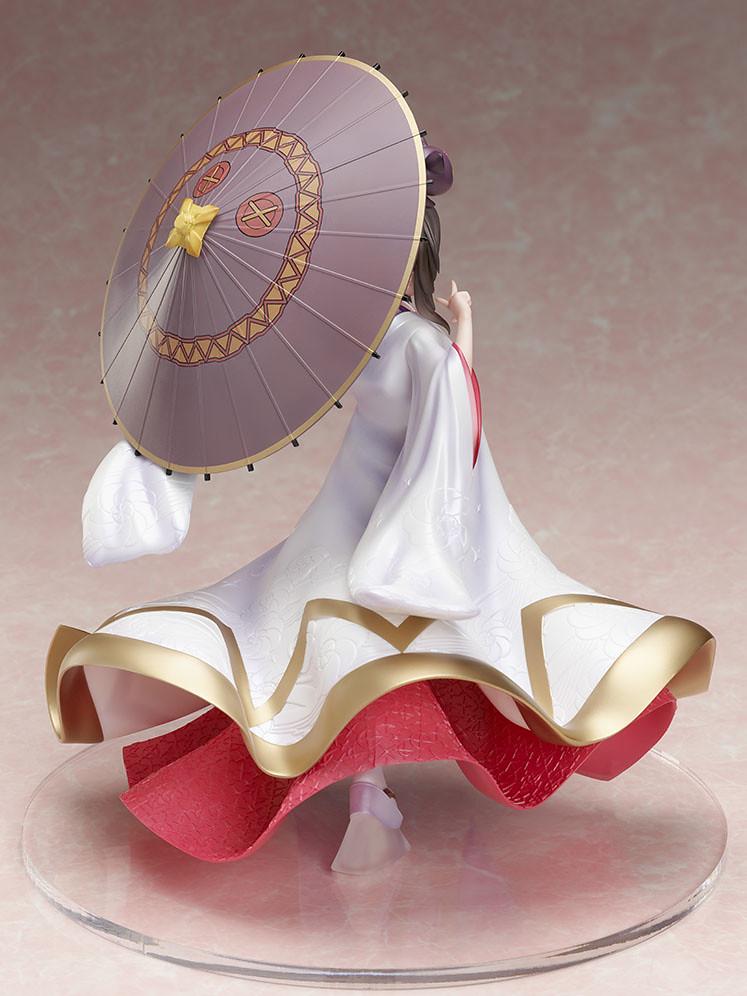 可愛爆裂狂的白無垢造型!F:NEX《為美好的世界獻上祝福!》惠惠(めぐみん) -白無垢- 1/7比例模型