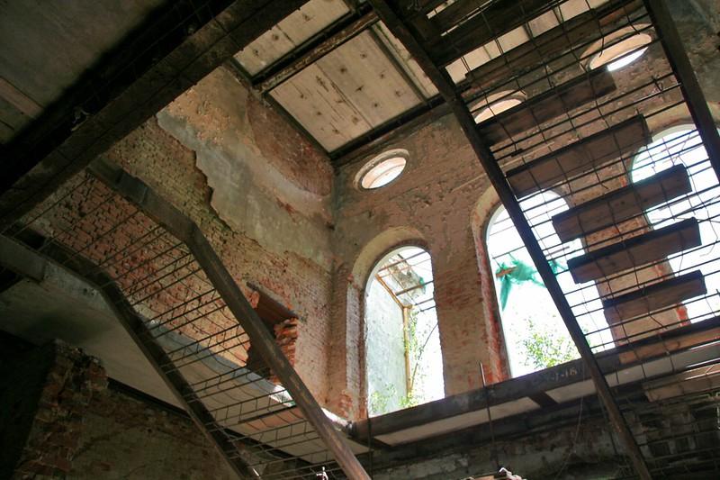 Усадьба Никольское-Прозоровское, руины усадебного дома