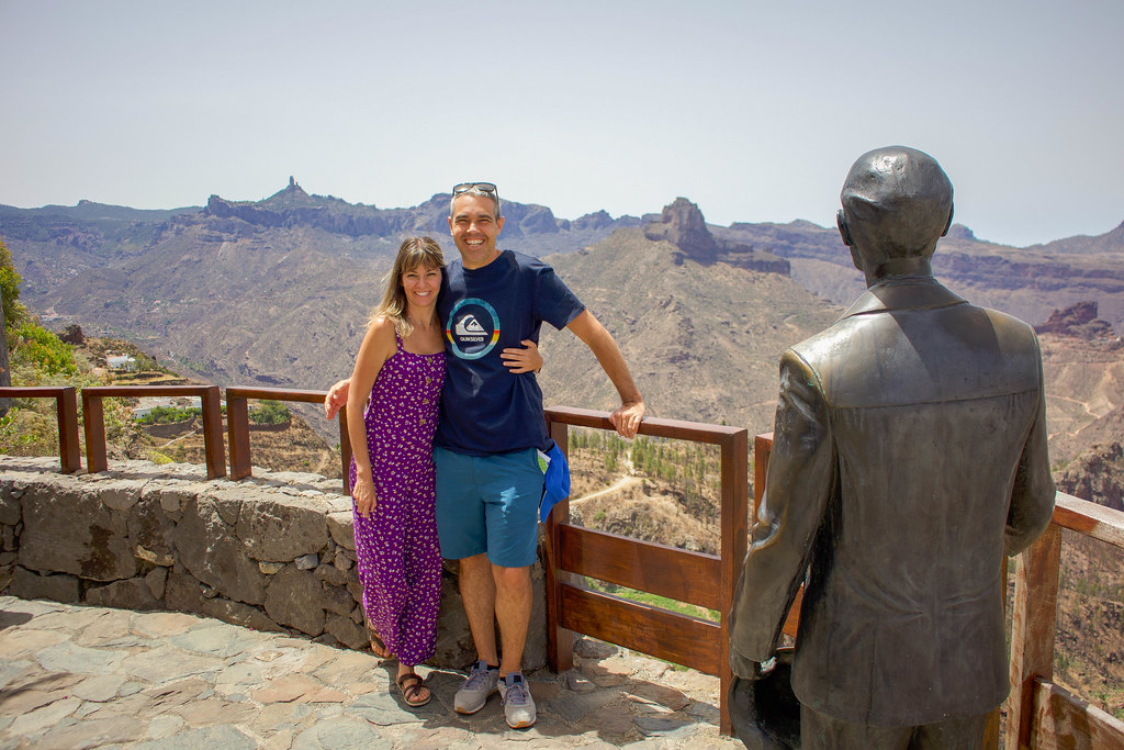 El mirador de Unamuno es uno de los lugares que ver en Artenara