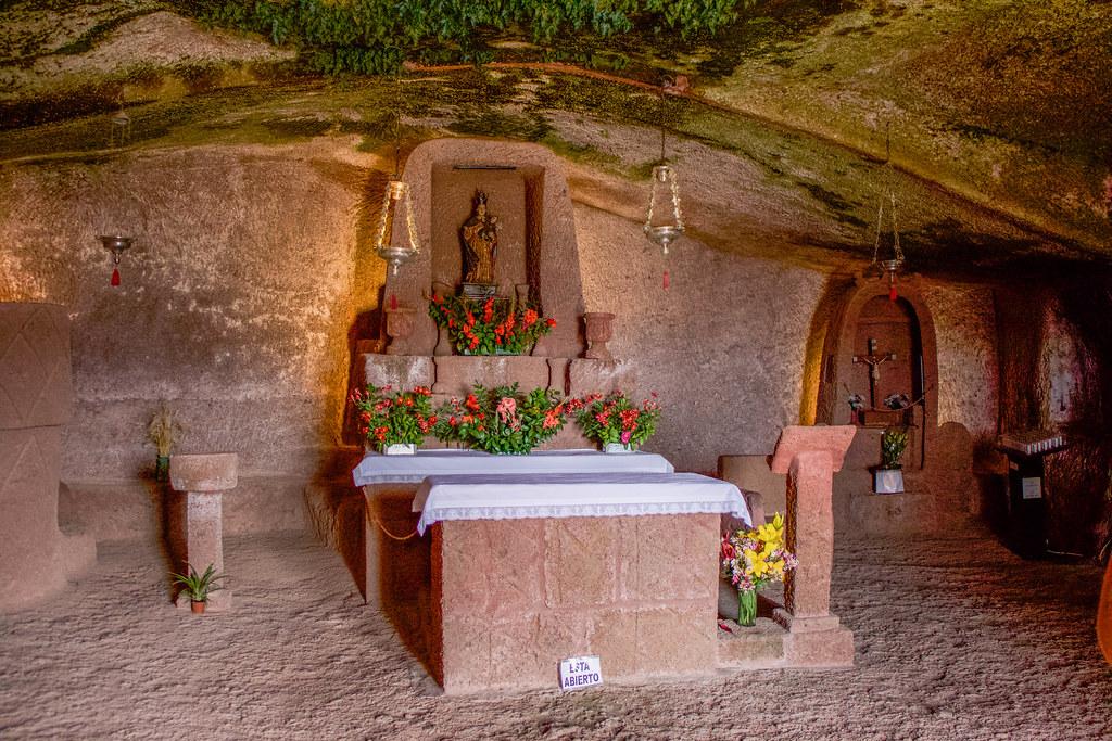 El interior de la Cuevita es uno de los sitios que ver en Artenara