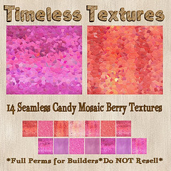 TT 14 Seamless Candy Mosaic Berry Timeless Textures